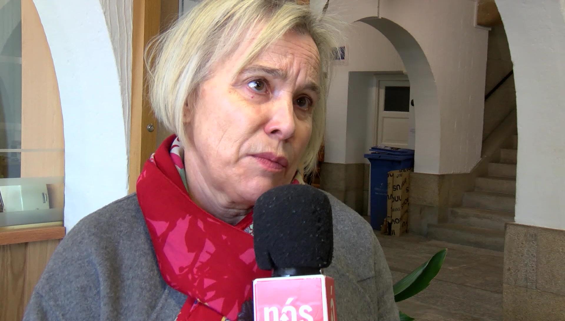 María del Carmen Viñas Álvarez, directora do IES San Clemente, conversou con Nós