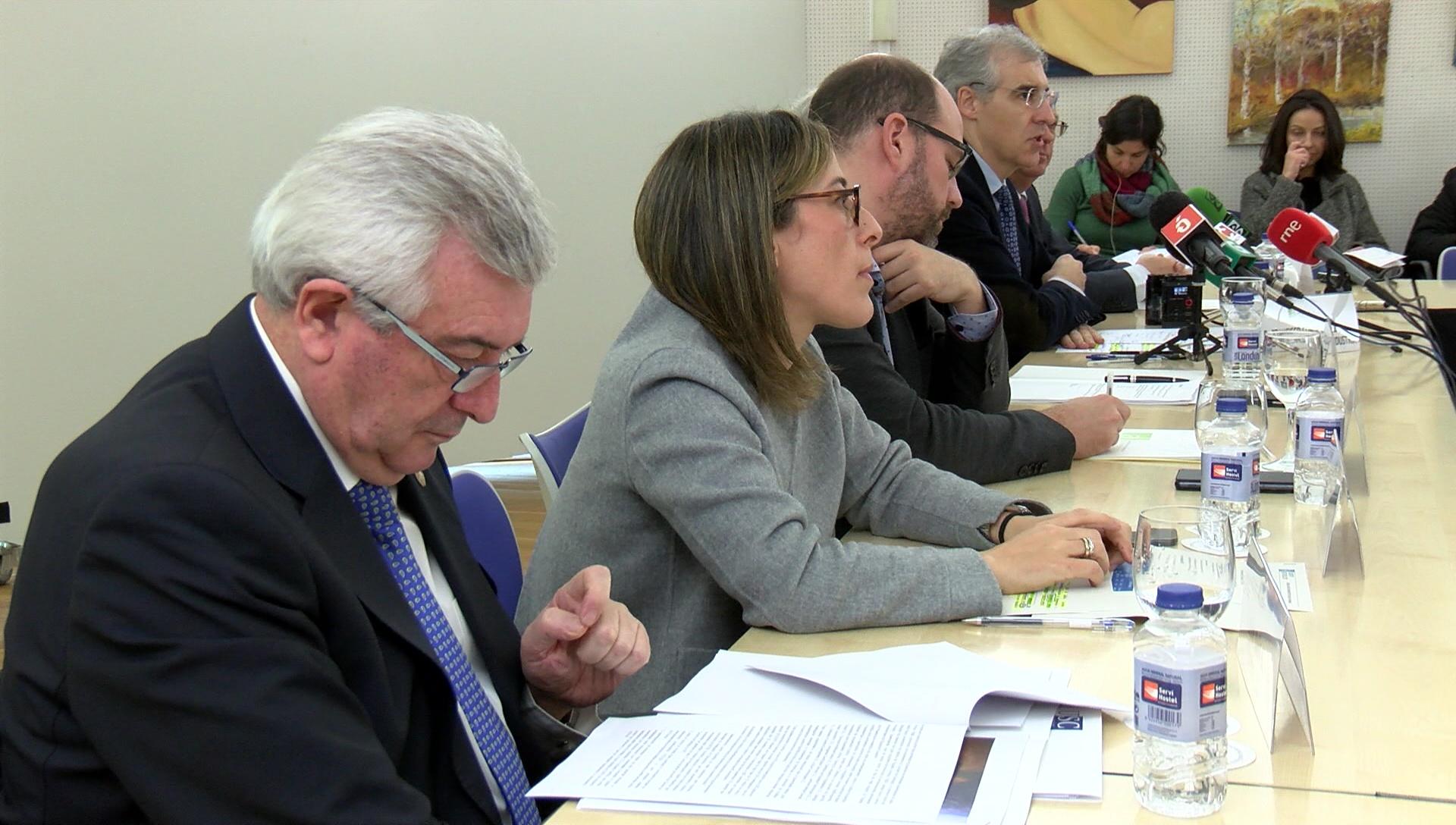 O Concello de Santiago, o Instituto Galego de Vivenda e Solo, Igape, Universidade de Santiago, a Cámara de Comercio e a Asociación Área Empresarial do Tambre asinaron hoxe o protocolo